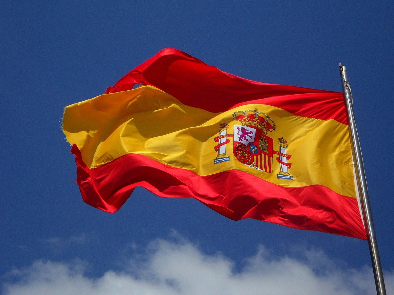 Spanienflagge (c) Pixabay